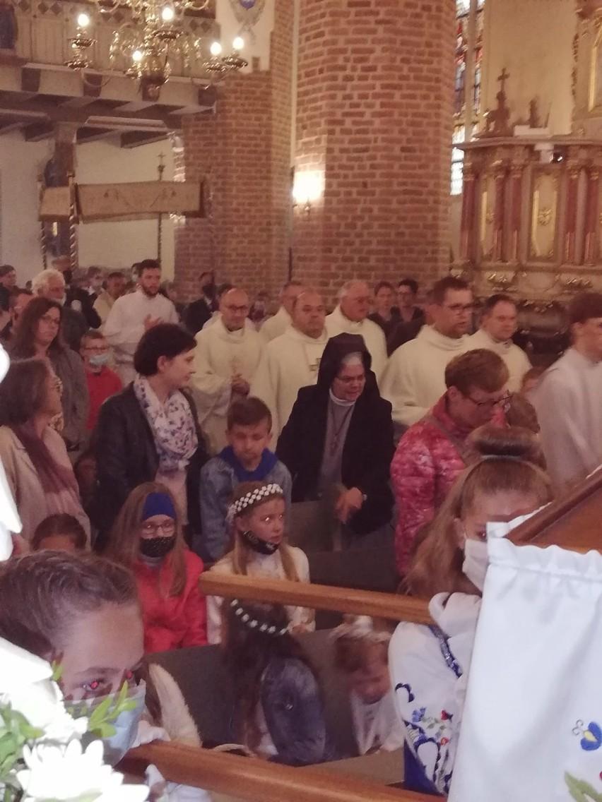 Boże Ciało 2020 w Pucku - parafia pw. św. Ap. Piotra i Pawła