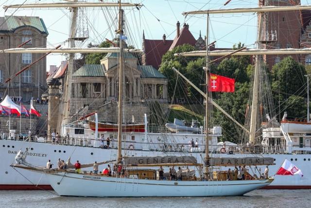 Żagle 2021 w Szczecinie. 30/07.2021