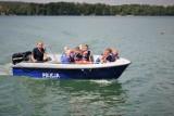 Bytowscy policjanci uczą kolonistów bezpiecznego wypoczynku nad wodą