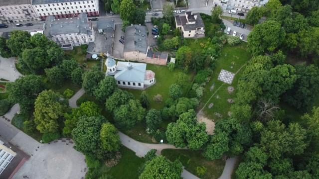Park miejski w Kaliszu