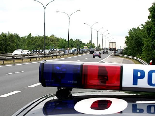 Wypadek motocykla w Gliwicach