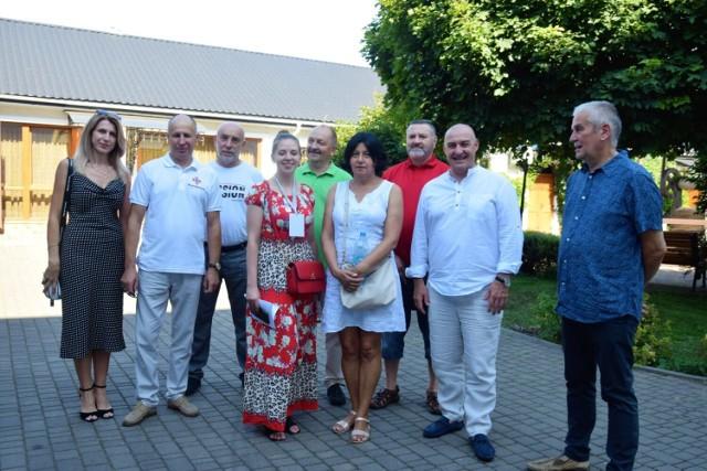 Tegoroczna wizyta wiązała się również z jubileuszem 10-lecia współpracy partnerskiej między miastami.