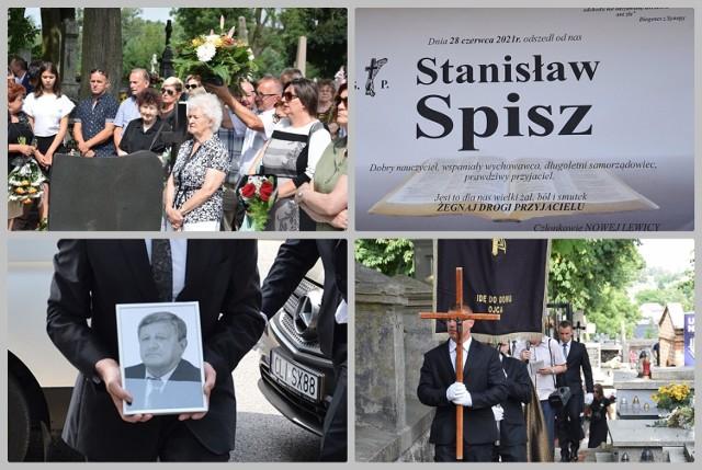 Pogrzeb Stanisława Spisza na cmentarzu w Lipnie, 1 lipca 2021 roku.