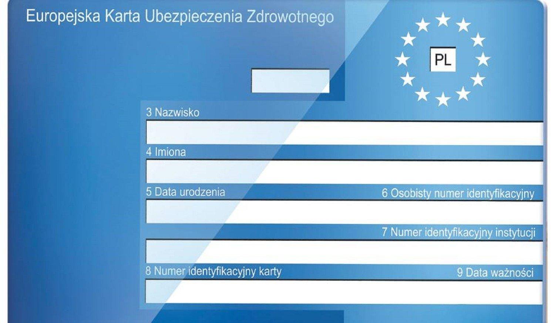 Karta Ubezpieczenia Europa.Jedziesz Za Granice Pamietaj O Europejskiej Karcie Ubezpieczenia