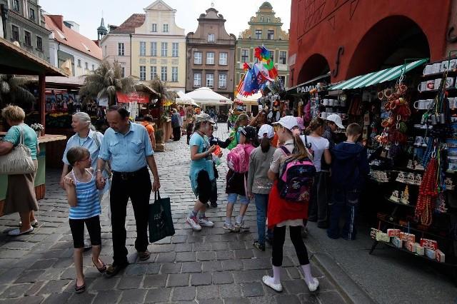 W sobotę i niedzielę będą czynne stoiska handlowe i odbywać się koncerty na scenie ustawionej na Starym Rynku