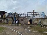 Pożar w Ostrówku. Płonął budynek gospodarczy. W środku były zwierzęta
