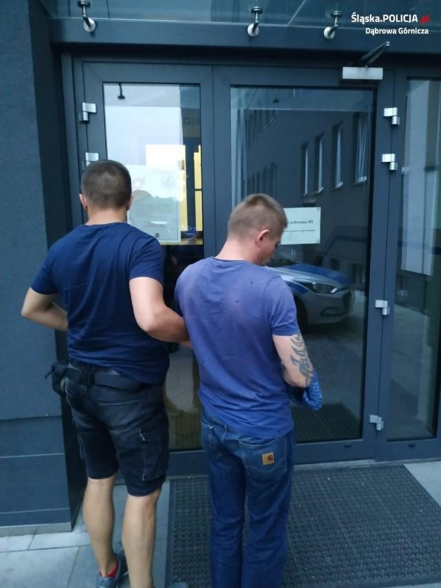 Mieszkaniec Siewierza został zatrzymany przez dąbrowskich policjantów