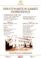 Dni Otwarte zamku Dobroszyce. Zapraszamy