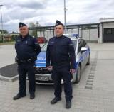 Policjanci z Sycowa eskortowali kobietę do szpitala