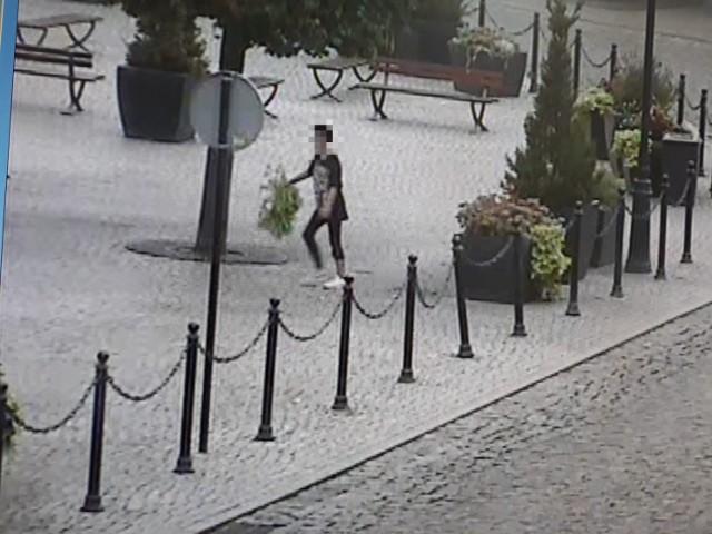 Zdjęcia - stopklatki z monitoringu miejskiego.