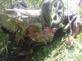Groźny wypadek na drodze w Korzennej. 20-latek walczy o życie [ZDJĘCIA]