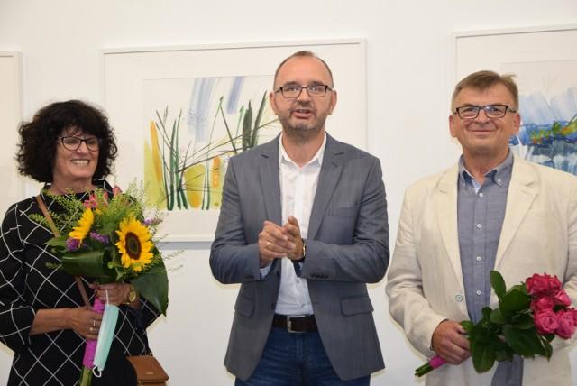 Wernisaż w BWA wystawy malarstwa Małgorzaty Szymańskiej-Cegiełki