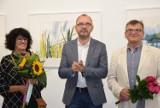 Wernisaż w BWA wystawy malarstwa Małgorzaty Szymańskiej-Cegiełki ZDJĘCIA