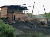Podczas nocnego pożaru w Barkowie spaleniu uległa stodoła murowano - drewniana