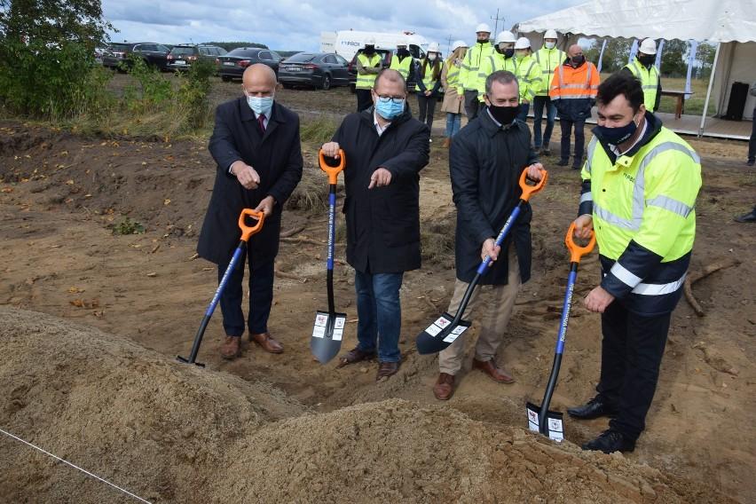 Symboliczne rozpoczęcie inwestycji w gminie Biały Bór