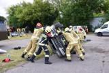Trzystu strażaków z całej Polski pod okiem instruktorów z połowy Europy szkoli się, jak ratować ofiary wypadów