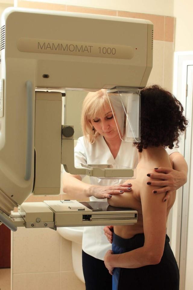 Zapraszamy na bezpłatne badanie mammograficzne w mammobusie, ...