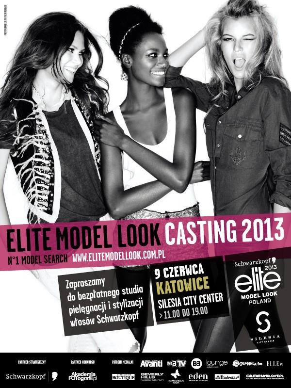 Casting do Elite Model Look 2013 odbędzie się 9 czerwca w Katowicach