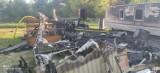 Pożar w Chłapowie: jeden z domków holenderskich spłonął doszczętnie, pozostałe udało się uratować   ZDJĘCIA, NADMORSKA KRONIKA POLICYJNA