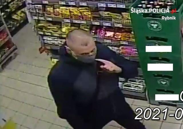 Rybnik-Boguszowice: policja szuka sklepowego złodzieja