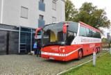 W poniedziałek zbiórka krwi w krwiobusie w Pruszczu i pomoc dla uchodźców z Morii
