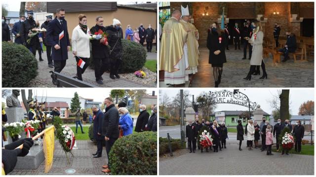 Uroczystości w Rypinie z okazji 11 listopada odbyły się w kościele pw. św. Stanisława Kostki i w parku im. Józefa Piłsudskiego