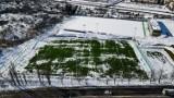 Budowa stadionu przy Bandurskiego w Szczecinie. Kolejna zmiana terminu zakończenia prac. ZDJĘCIA