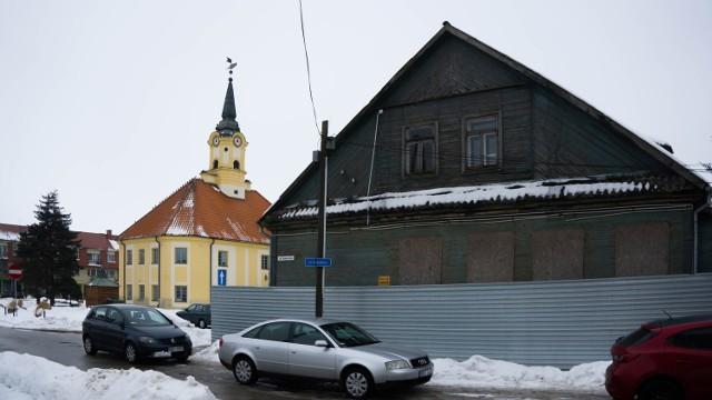 Budynek, który chce przekazać miasto Bielsk Podlaski Marszałkowi Województwa Podlaskiego, znajduje się przy ulicy Plac Ratuszowy 9, na przeciwko bielskiego Ratusza