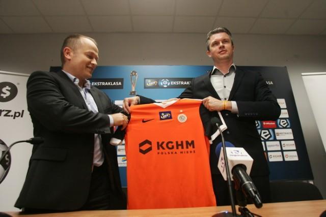 Nowy sponsor KGHM Zagłębia Lubin