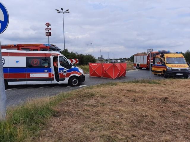Wypadek na obwodnicy Kędzierzyna-Koźla.