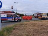 Wypadek w Kędzierzynie-Koźlu. Motocyklista zginął na rondzie na obwodnicy