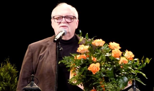 Bogdan Olewicz, autor tekstów wielkich polskich przebojów, był gościem honorowym XI Ogólnopolskiego Turnieju Piosenki Poetyckiej w Busku-Zdroju.