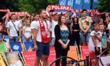 EURO 2020. Na pilskiej Wyspie kibice wspólnie obejrzeli mecz Polska - Szwecja. Zobaczcie zdjęcia