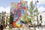W Łodzi powstał trójwymiarowy mural! Pierwszy taki w Polsce i jeden z trzech na świecie [ZDJĘCIA]