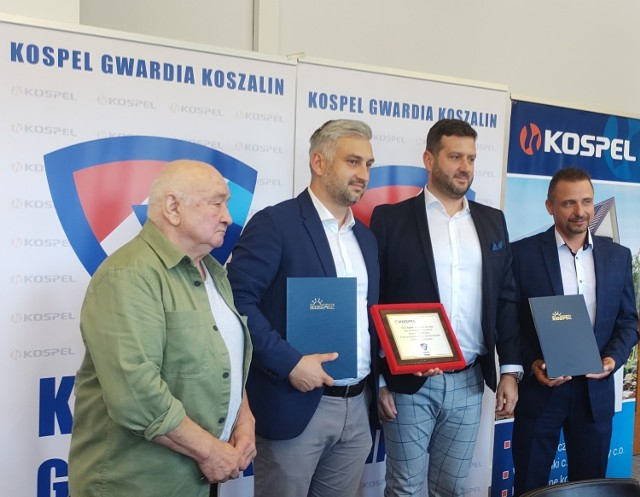Od lewej: Jan Stasiuk, Tomasz Nowe, Paweł Skrzypczak i Remigiusz Piotrowski