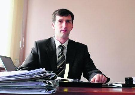 Sprawę byłej księgowej prowadziła prokuratura w Trzciance, na zdjęciu prokurator Gorczyński