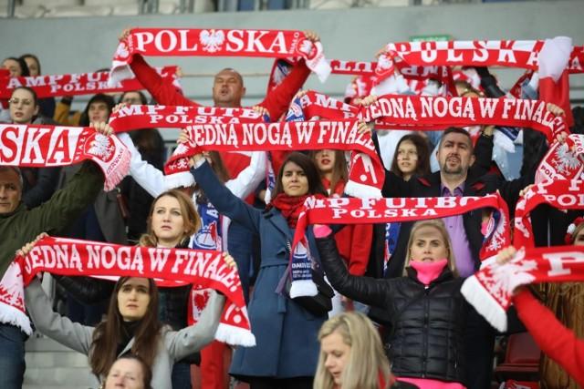 19.09.2021, Kraków: kibice podczas meczu o brązowy medal ME w amp futbolu Polska - Rosja