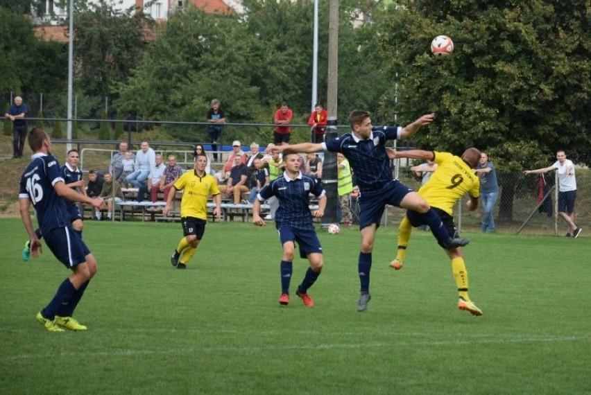 Piłkarze z Gostynia obecnie grają w lidze międzyokręgowej