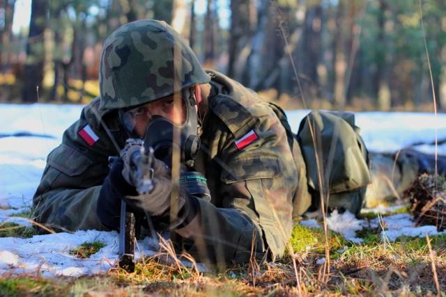 Szkolenie w ramach I turnusu służby przygotowawczej w 52 Batalionie Remontowym w Czarnem
