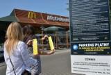 Parkowanie przy McDonaldzie na Rubinkowie za 95 zł?