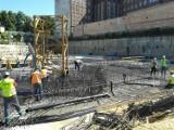 Wylano fundamenty pod OVO Wrocław [zdjęcia]