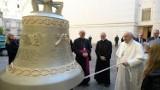 Papież Franciszek poświęcił odlane w Przemyślu dzwony Głos Nienarodzonych, które trafią do parafii na Ukrainie i w Ekwadorze