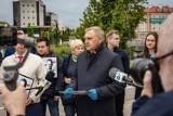 Prezydent Truskolaski zbiera podpisy pod kandydaturą Trzaskowskiego