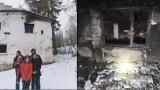 Pożar strawił dom pięcioosobowej rodziny z Jugowa. Trwa zbiórka pieniędzy na jego odbudowę