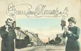 """Pierwsze """"memy"""" z Nowej Soli. To śmieszyło mieszkańców miasta sto lat temu. Zobacz pocztówki z miasta sprzed wieku"""