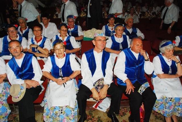 Do Lubania zjechali na przegląd seniorzy z całego Dolnego Śląska