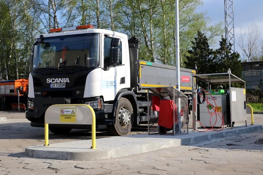 Rybnickie Służby Komunalne zbudowały własną stację z gazem...