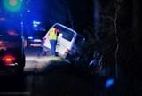 Chojnice. Kierowca, który spowodował wypadek w Przymuszewie miał prawie 2 promile...