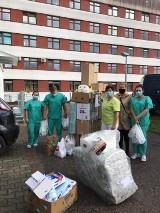 Do Hospicjum w Szpitalu Specjalistycznym w Kościerzynie trafiły środki czystości