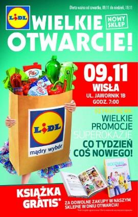 Lidl W Wiśle Otwarcie W Czwartek 9 Listopada Wygraj Kosz